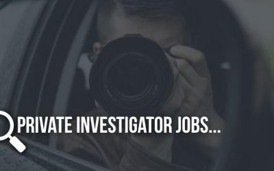 Private Investigator Jobs, Are You Interested?